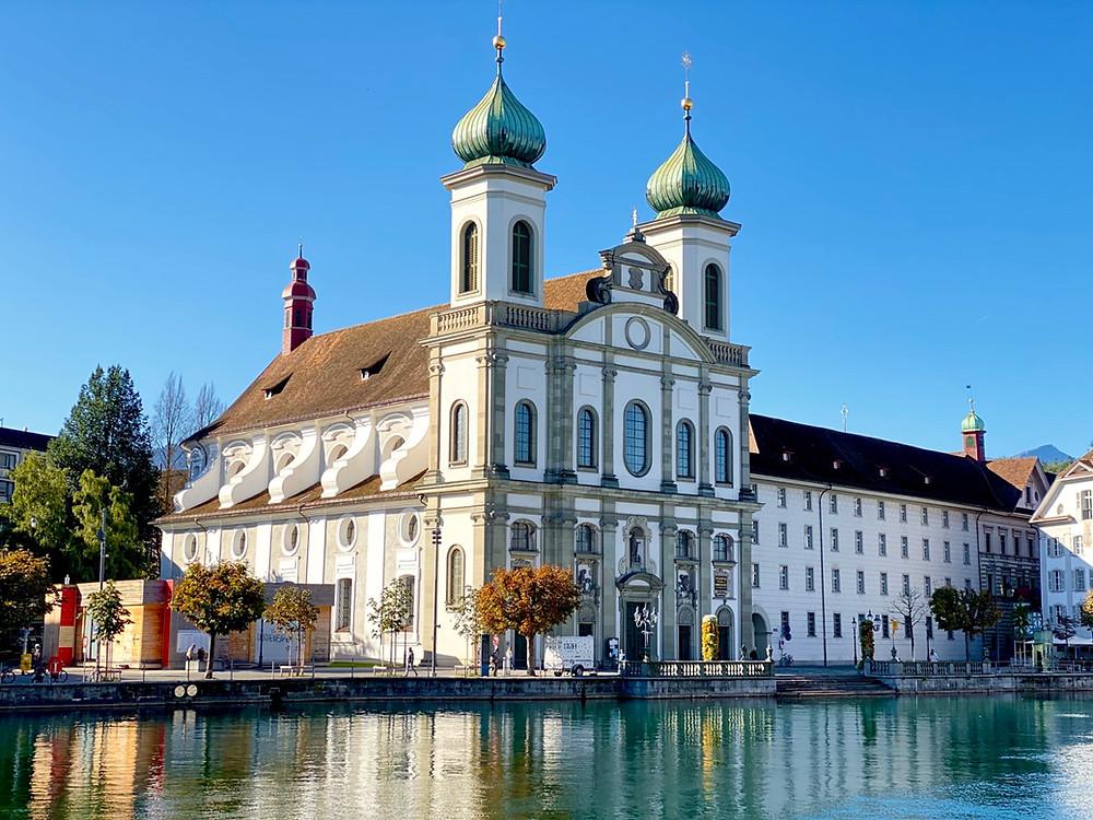 Iglesia católica Lucerna