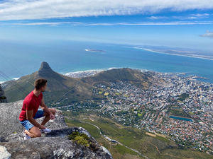 View from Table Mountain summit