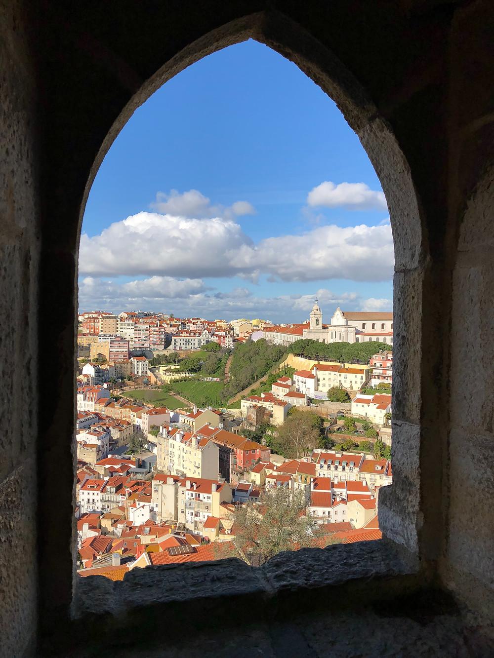 Miradores Castillo San Jorge