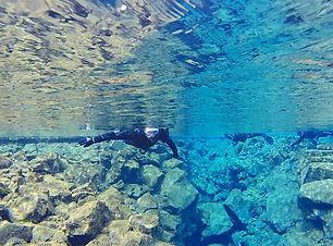 Snorkel between continents_ Northamerica