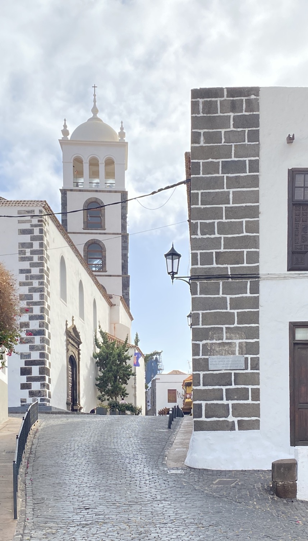 Torre campanario de la Iglesia de Santa Ana