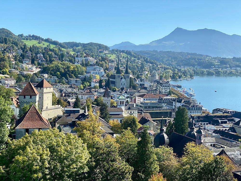 Vistas desde Zytturm