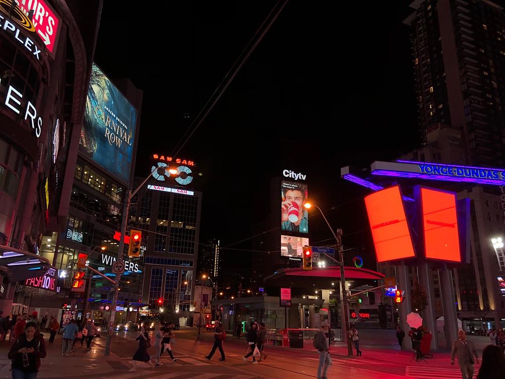 Times Square Toronto