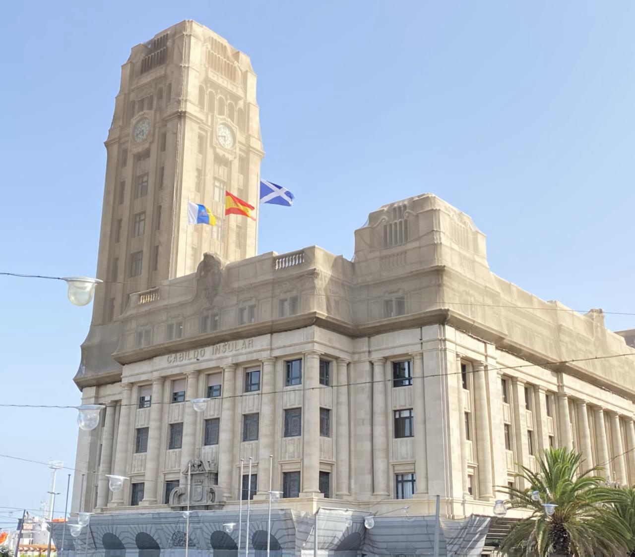 Edificio del cabildo insular de Tenerife