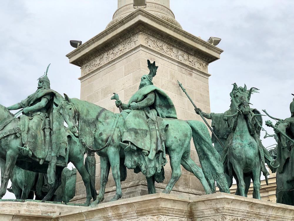 Estatua de Lajos Batthyány en Budapest