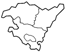 Mapa Pais Vasco