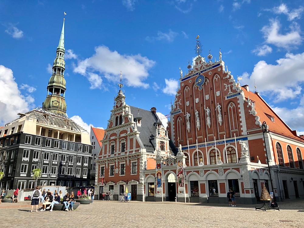 Casa de los Cabezas Negras en Riga