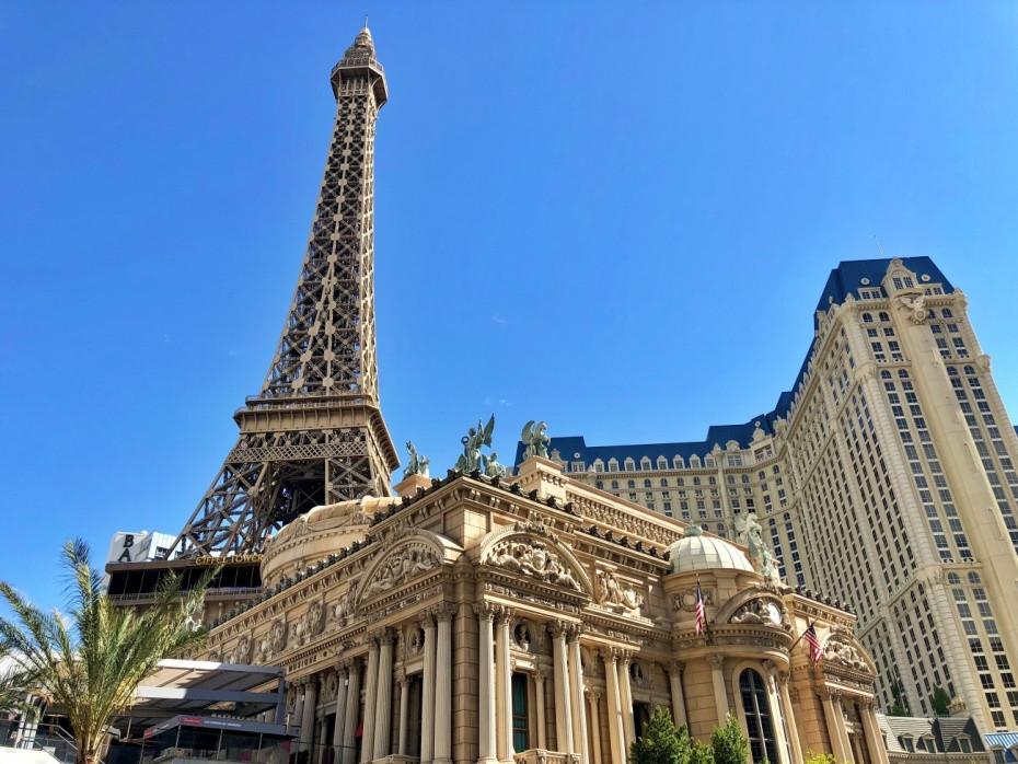 Torre Eiffel en el resort Paris de Las Vegas