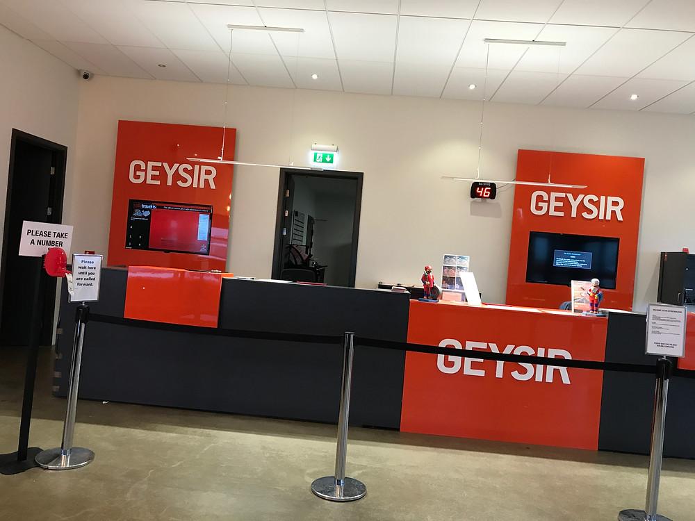 Imagen de las oficinas de Geysir Car Rental