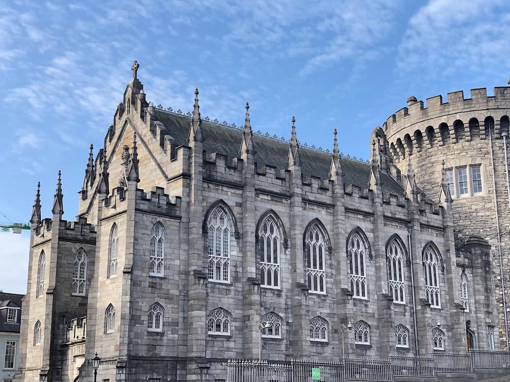 Fachada Castillo Dublin historia
