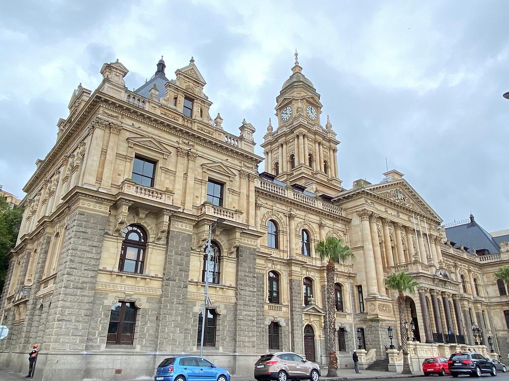 Fachada del Ayuntamiento de Ciudad del Cabo