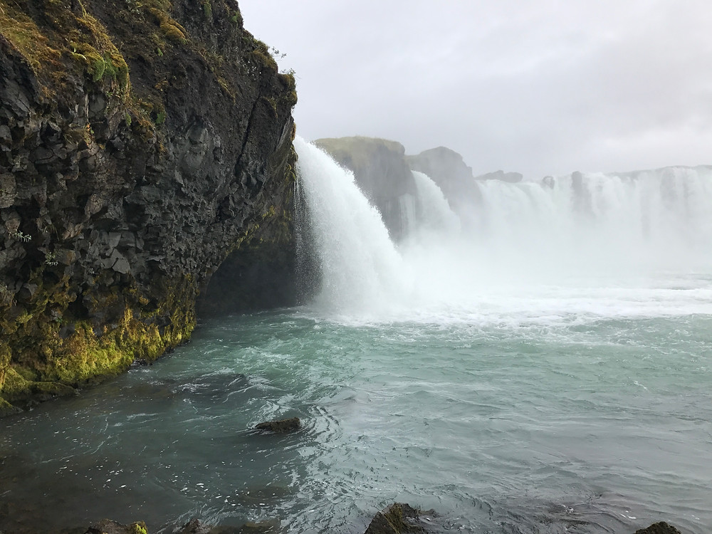 Iceland top spots: Godafoss waterfall