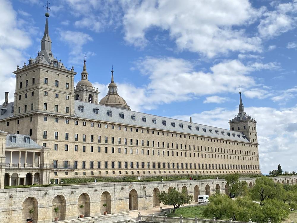 Vista panorámica del Real Monasterio del Escorial