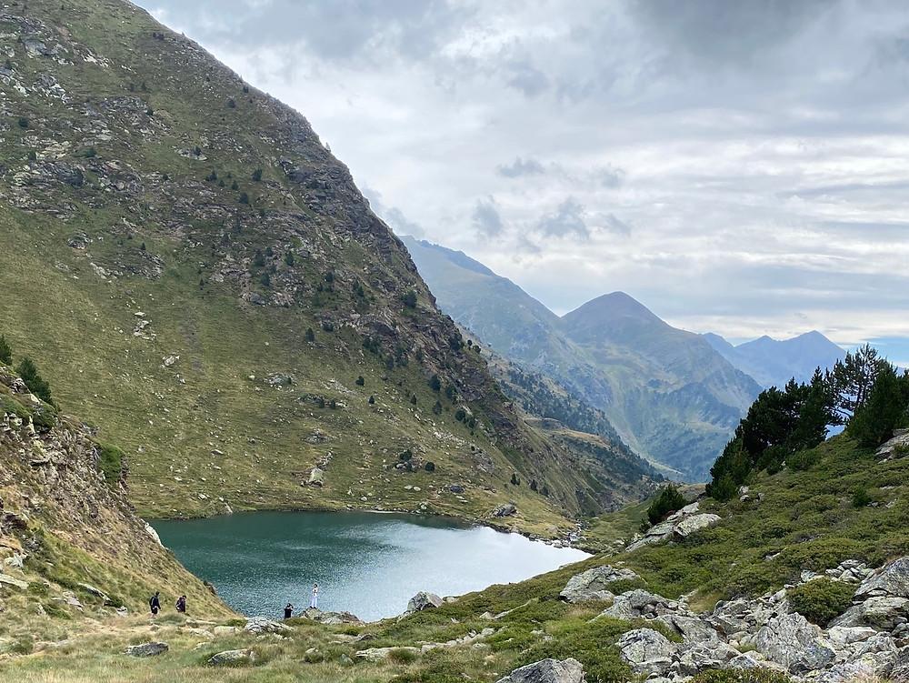 Estany Primer Llacs Tristaina Andorra