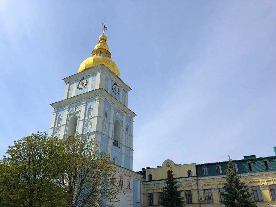 Torre campanario Kiev Ucrania