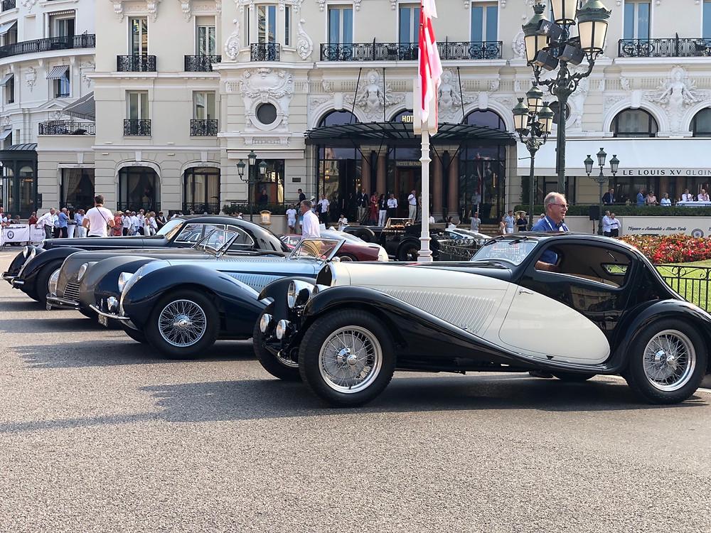 Coches clásicos Mónaco
