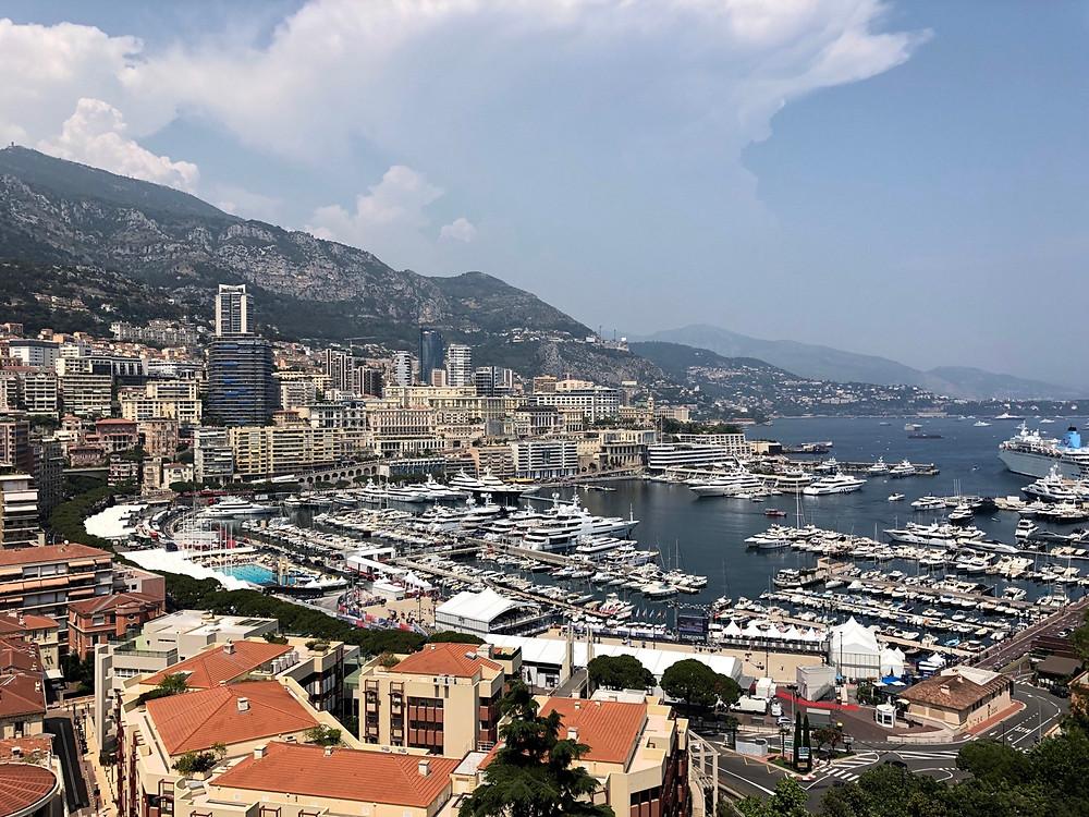 Yates en Monaco