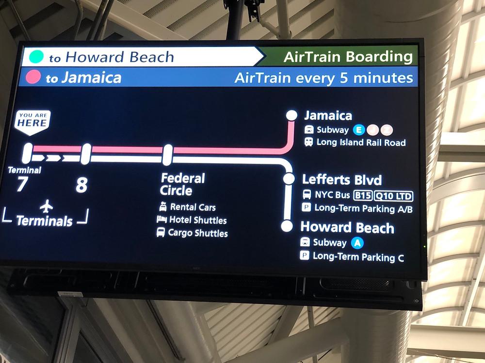 AirTrain JFK to Jamaica Station