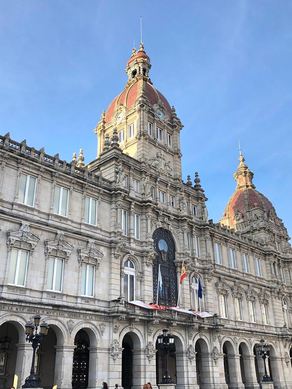 Edificio Ayuntamiento La Coruña