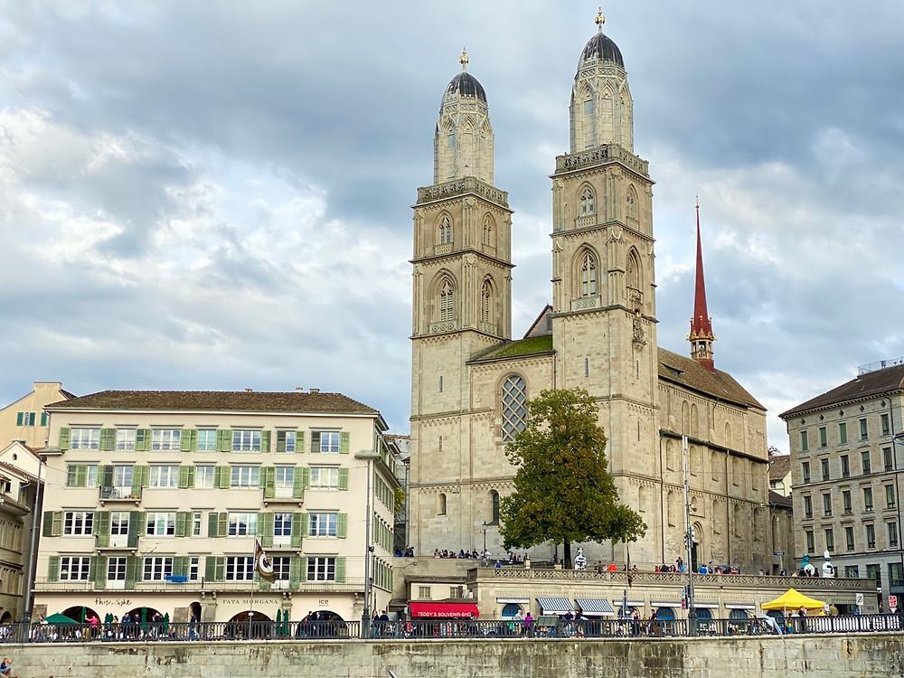 Catedral de Grossmunster Zurich
