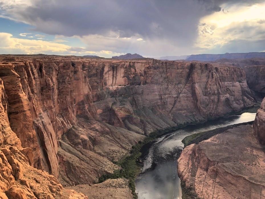 Río Colorado en su paso por el Horseshoe Bend