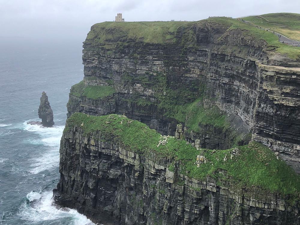 Vistas acantilados moher