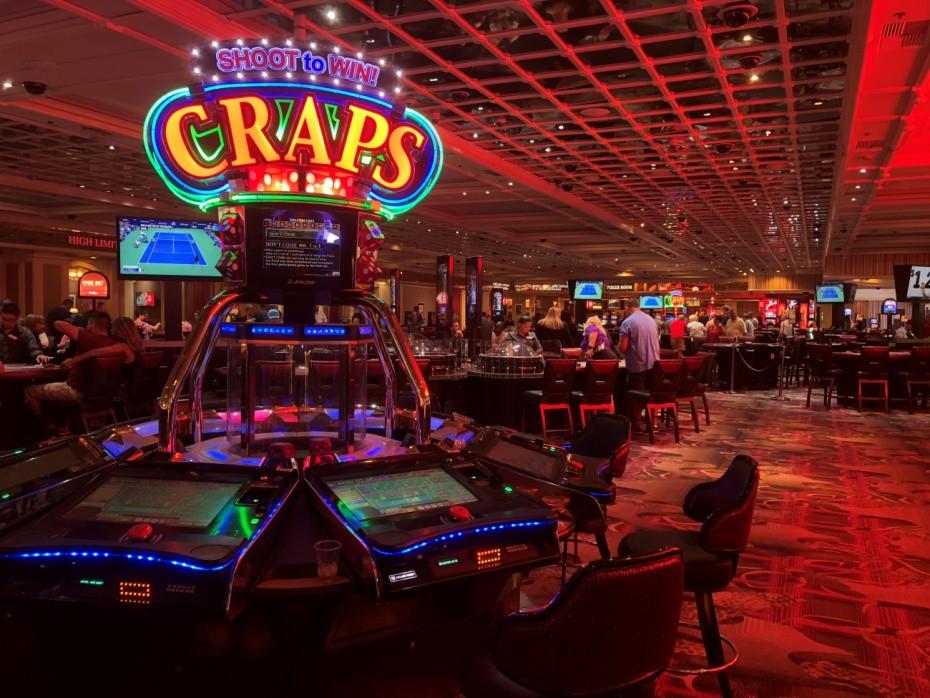 Sala de juegos en uno de los resorts de Las Vegas