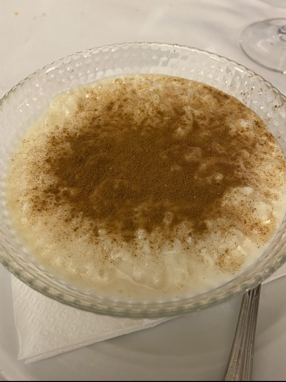 Arroz con leche Restaurante Parra