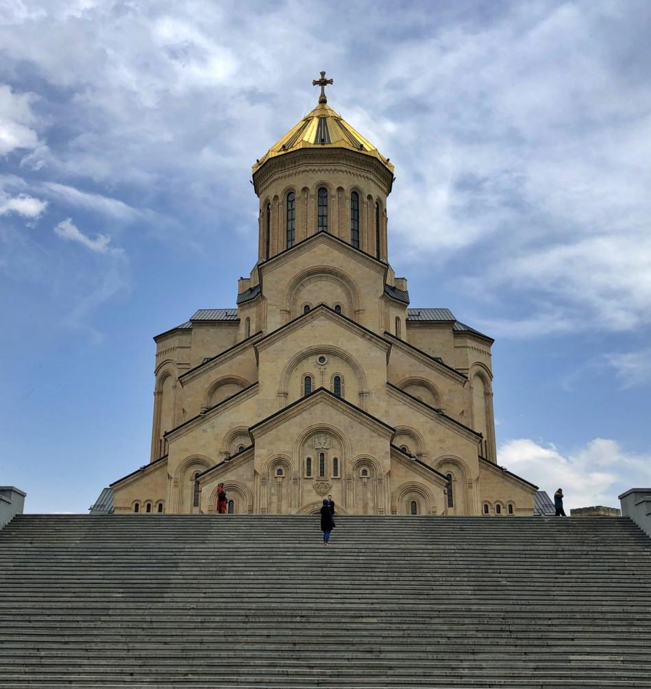 Catedral Sameba Tbilisi Georgia