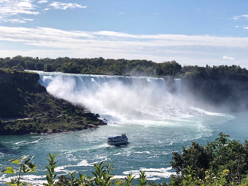 Vista panorámica American Falls