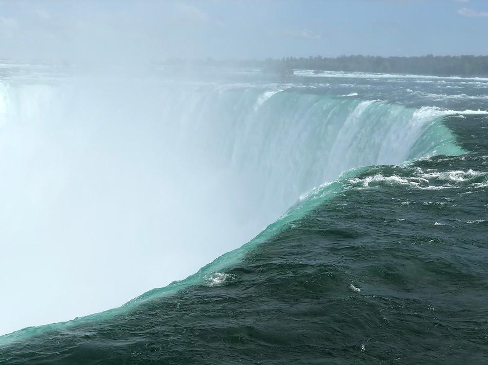 Horseshoe Falls desde Canada