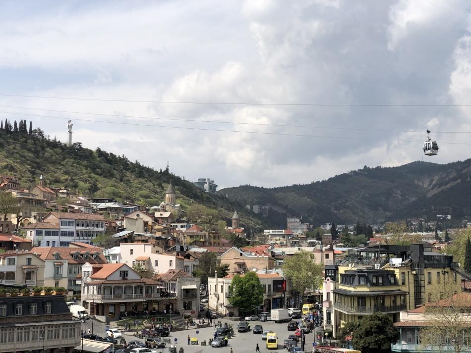 Teleférico Tbilisi Georgia
