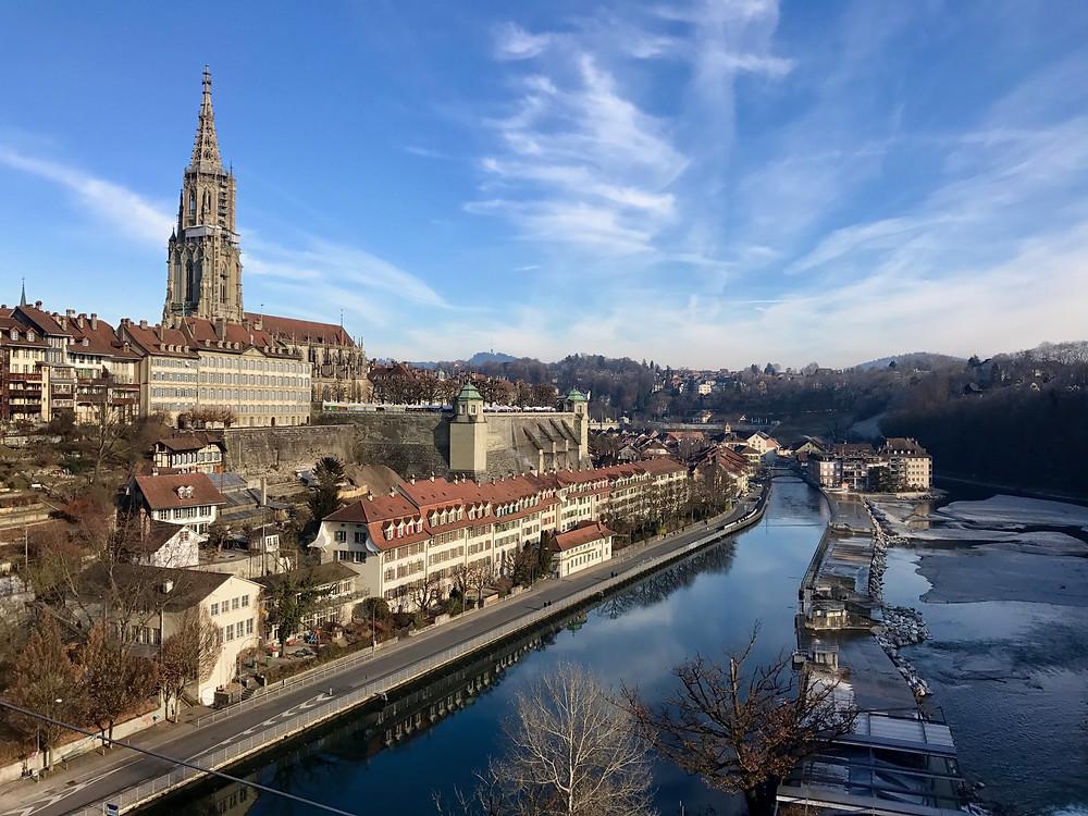 Catedral de Berna y Río Aaar