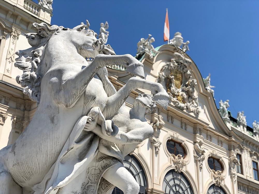 Caballos Palacio Belvedere