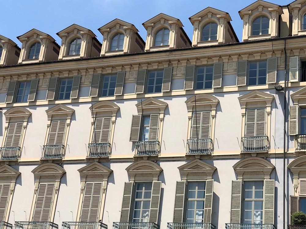 Fachadas edificios Turin