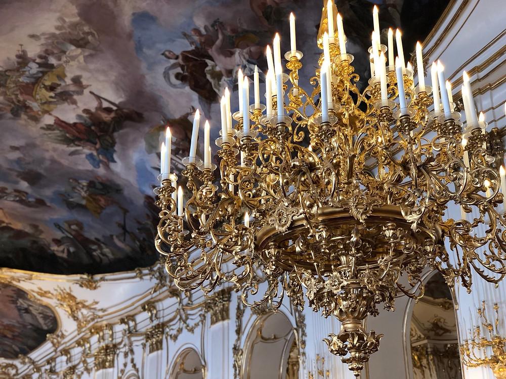 Candelabro Palacio Schonbrunn