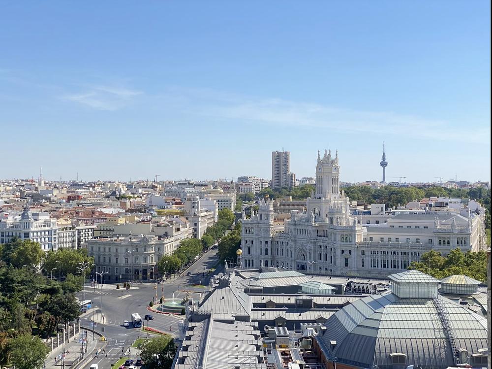 Palacio de Comunicaciones visto desde el Circulo de Bellas Artes
