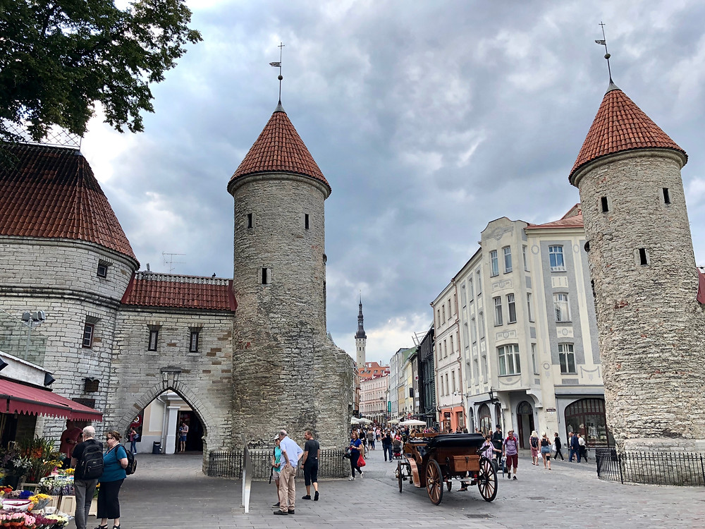 Viru Gate en Tallin