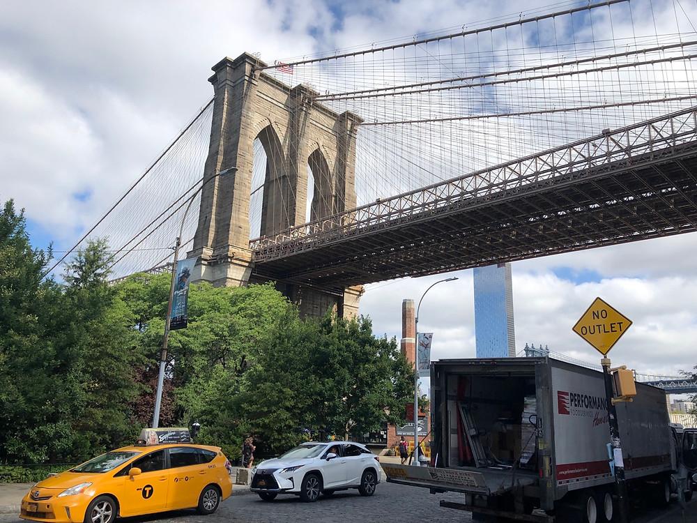 Pilar del Brooklyn Bridge