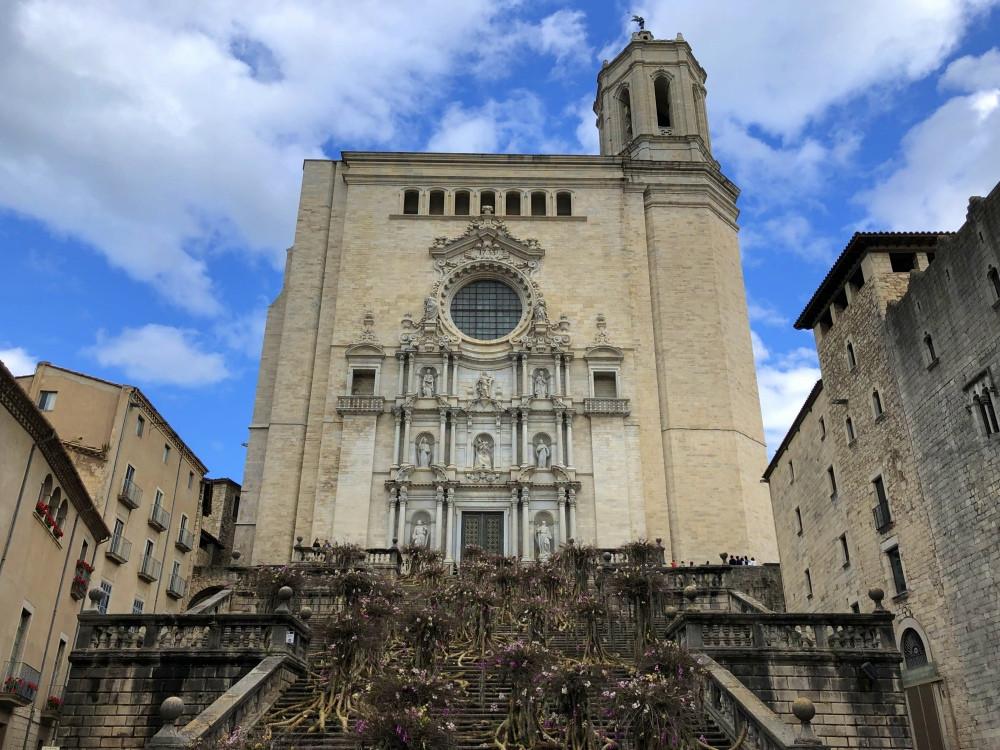 Catedral de Girona durante Temps de Flors