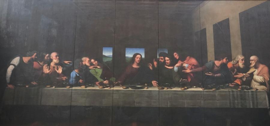 Replica de La Última Cena en Turin