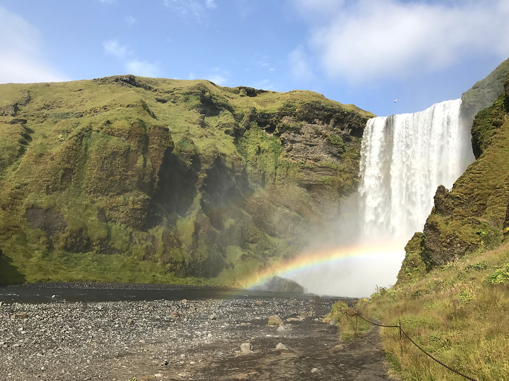 Iceland top spots: Skogafoss waterfall