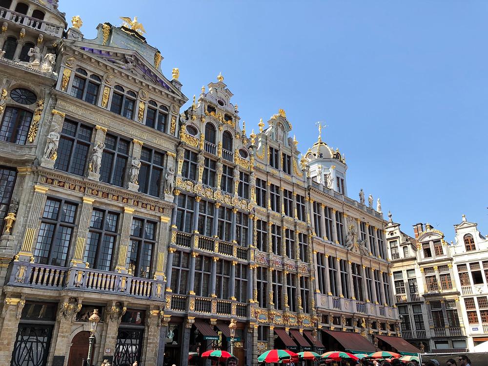 Casas gremiales Bruselas