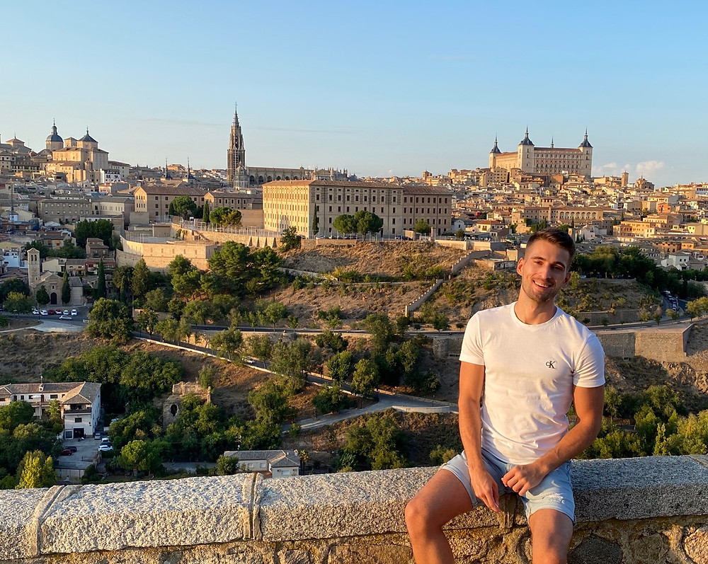 Mirador panorámico del Valle en Toledo