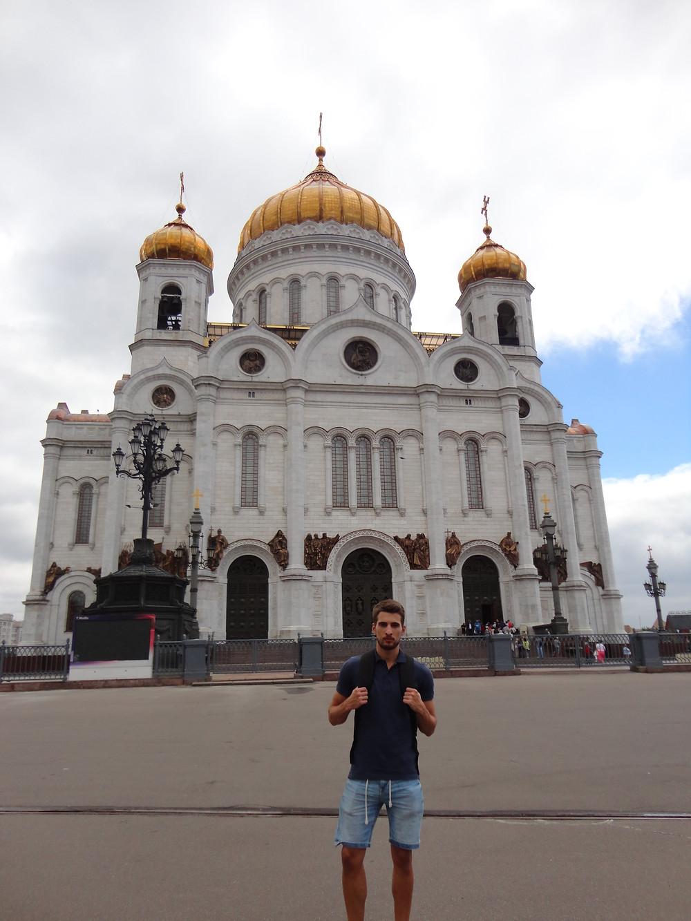 Catedral Cristo Salvador Moscú