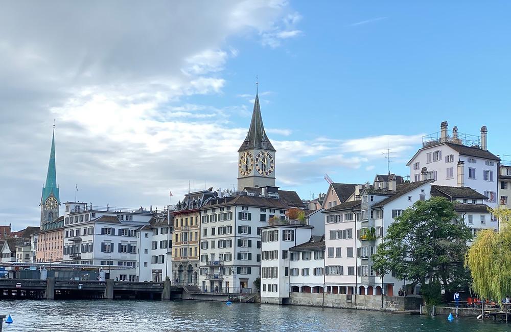 Iglesias protestantes en Zurich