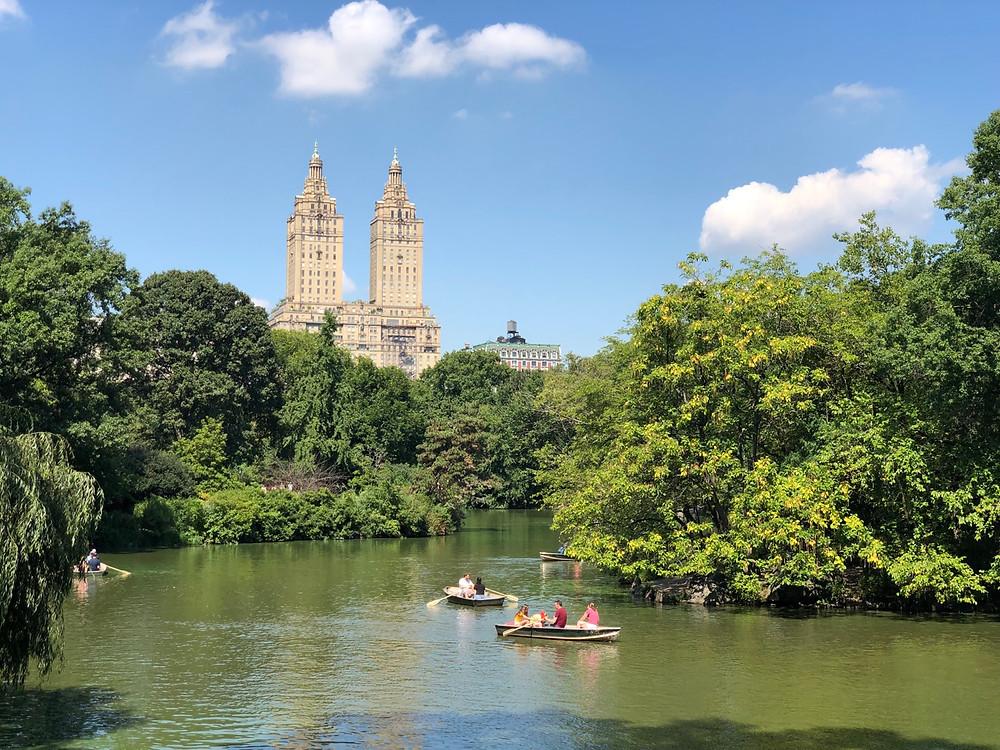 Paseo en Góndolas por Central Park
