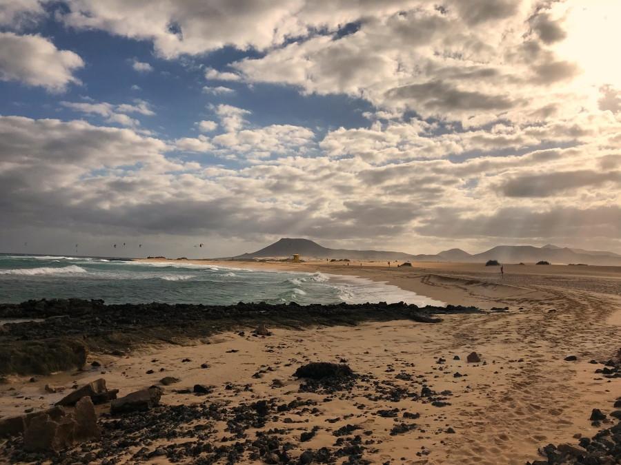 Montana roja Fuerteventura