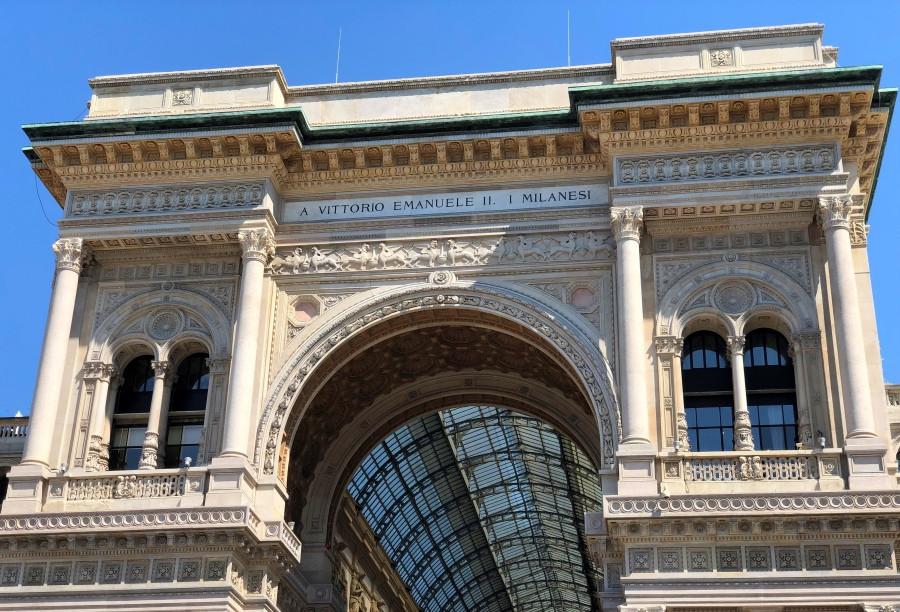 Fachada Galeria Vittorio Emanuele