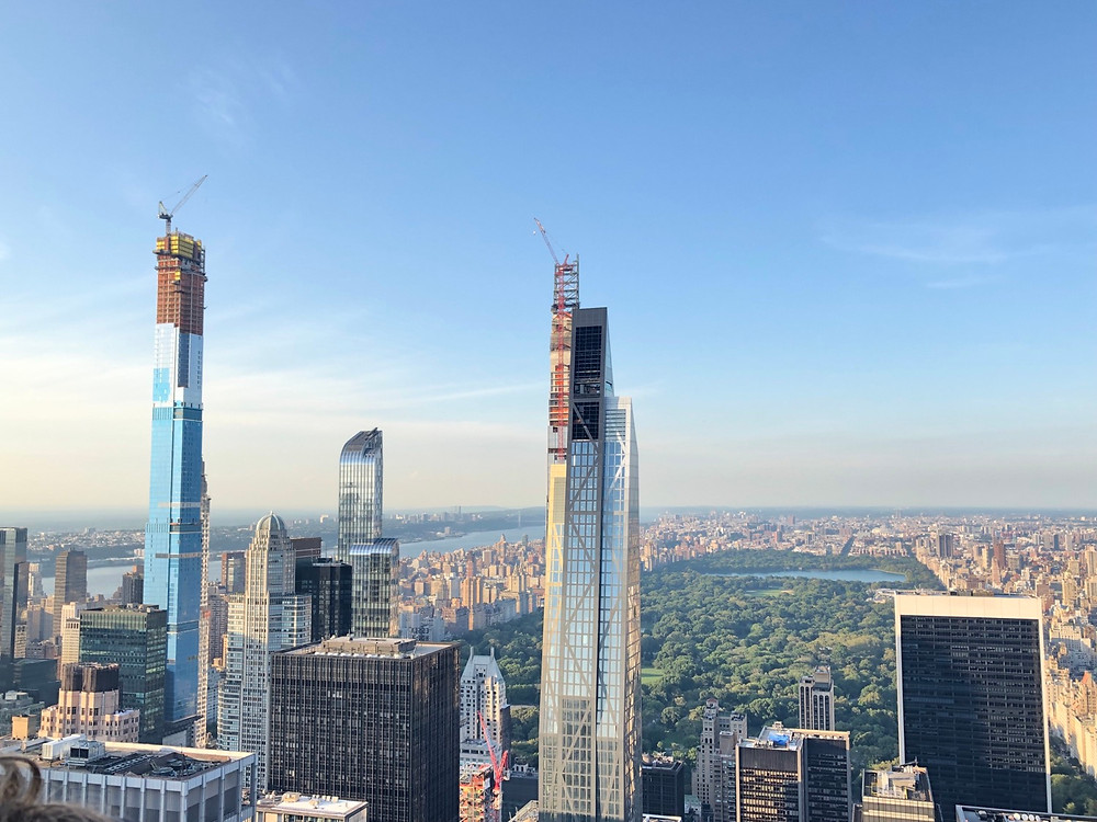 Mejor vista panorámica del Central Park Nueva York